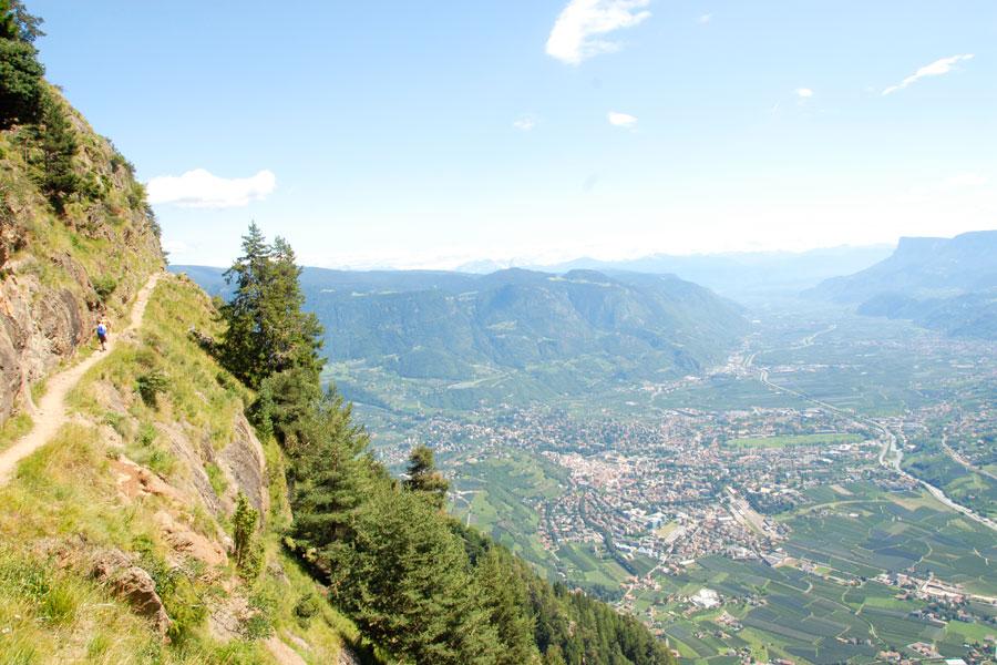 Der Meraner Höhenweg - Ein Muss für alle Bergfreunde