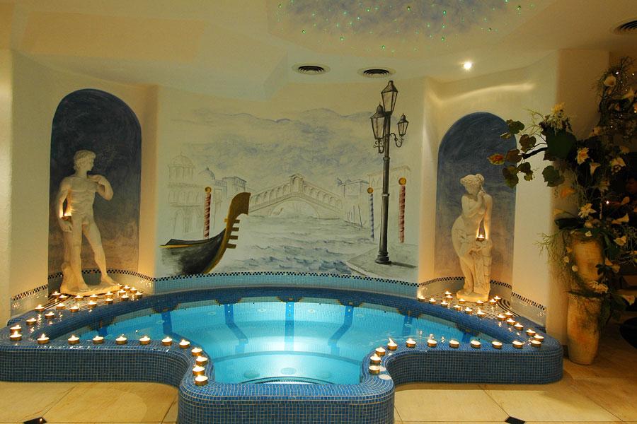 Wellnessoase im Hotel Funggashof für einen gelungenen Wellnessurlaub in Naturns