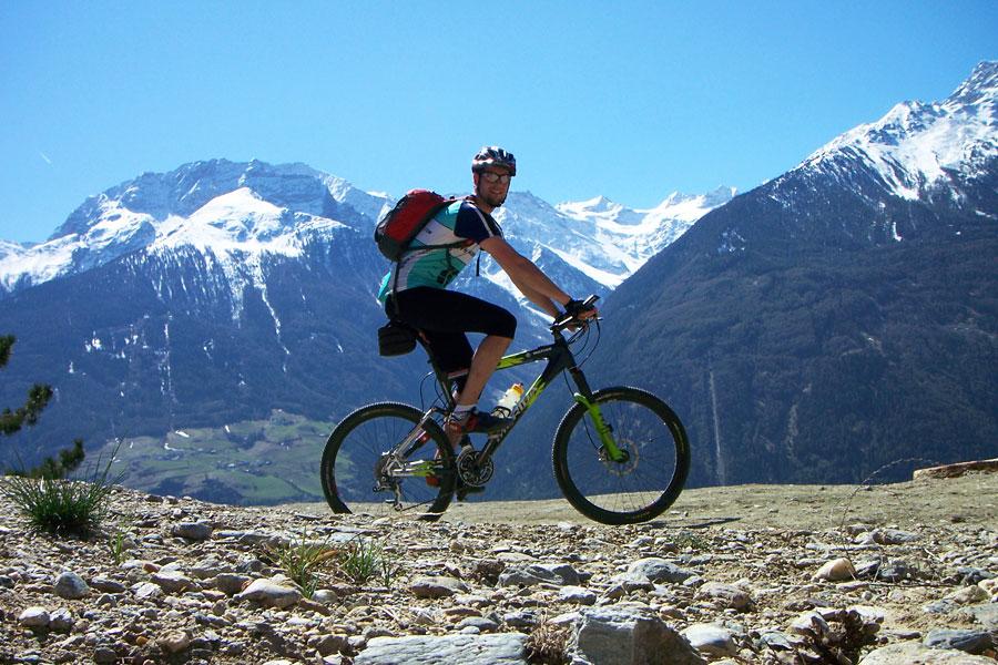 Fantastische Aussichten bei Ihrer Biketour im Vinschgau