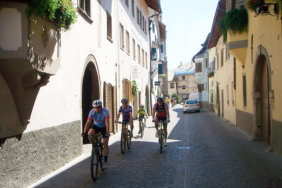 Urlaub mit dem Mountainbike im Vinschgau