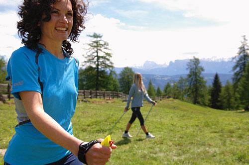 Nordic Walken auch im Urlaub in Naturns