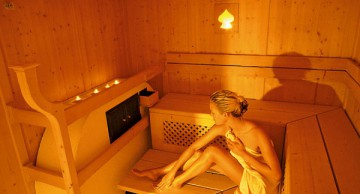 Saunawelt im Hotel Funggashof